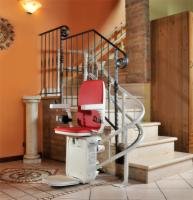 AmeriGlide Platinum Curved Stair Lift-HD