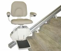 AmeriGlide Rave Stair Lift with Folding Rail