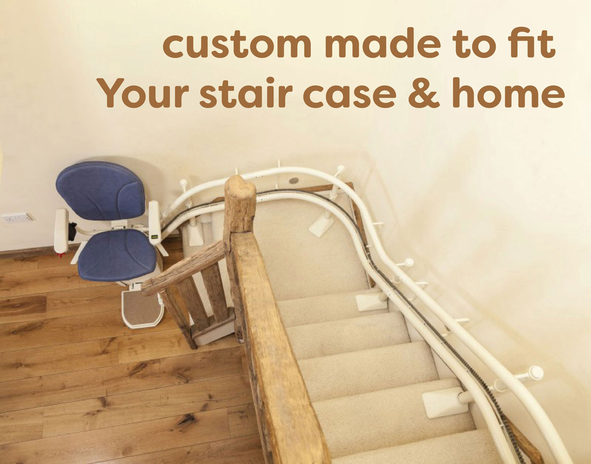 AmeriGlide Curved Stair Lifts